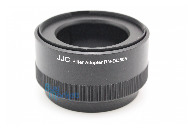 JJC RN-DC58B Lens Adapter Tube For Canon Powershot G10,G11,G12 replace FA-DC58B