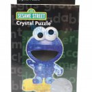 3D Crystal Puzzle Jigsaw 39 pieces Toys Decoration Sesam Street Cookie Monster