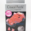 3D Crystal Puzzle Jigsaw 53 pieces Toys Decoration - Vintage Classic Red Car