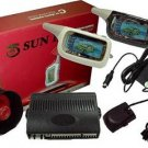SUN II 1.5KM FM Frequency 2-Way Car Alarm System with Auto Start