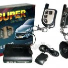 SUPER T-688 Voice Alert Talking Car Alarm System