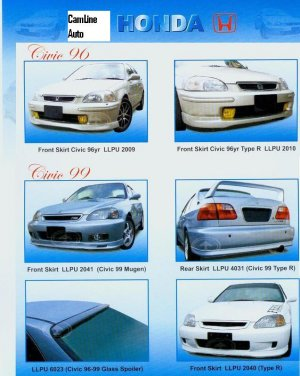 Convertion Civic 96' to 99'