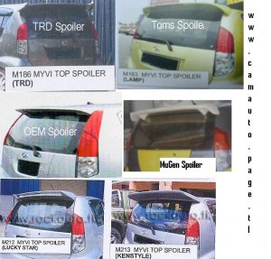 Myvi latest Spoiler # 1