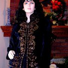 NEW SOFT SURROUNDINGS CZARINA EMBROIDERED JACKET XS $149