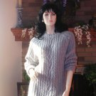 SOFT SURROUNDINGS MY BOYFRIEND'S SWEATER Silk/Angora/Nylon GRAY Washable $128 M