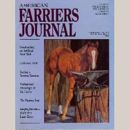 AMERICAN FARRIERS JOURNAL January 1990 Artificial Hoof Wall UNDERRUN HEEL Navicular Bursitis