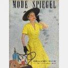 MODE SPIEGEL Summer 1950 German Fashion Magazine