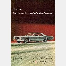 """Ad 1965 OLDSMOBILE STARFIRE """"The Rocket Action Car!"""" 65 Olds"""