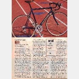 CANNONDALE R600 GIANT ATX 890 rei novara trionfo KLEIN QUANTUM PRO BICYCLING Magazine article 1995