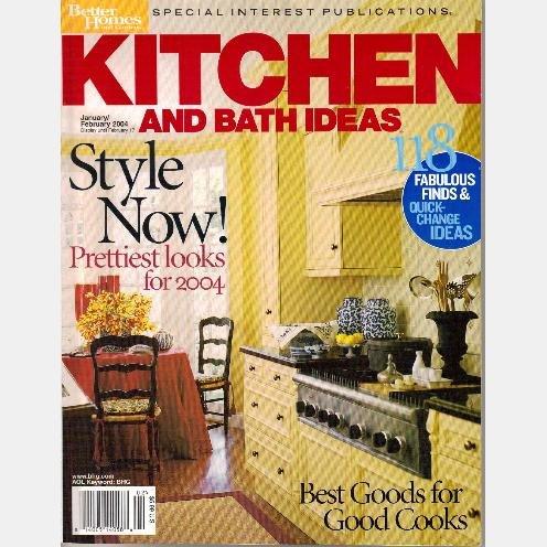 KITCHEN BATH IDEAS January February 2004 BETTER HOMES GARDENS Special Interest ENGLISH KITCHEN