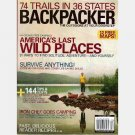 BACKPACKER October 2004 Magazine Great Bear Rain Forest WHITE MOUNTAINS Machu Picchu