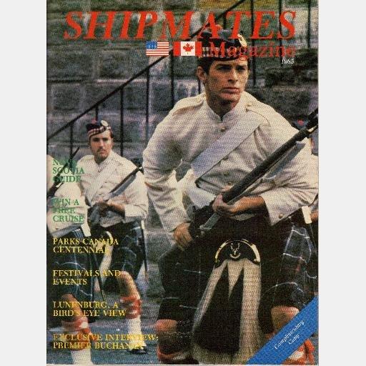 SHIPMATES 1985 NOVA SCOTIA Vacation Guide Magazine Citadel Hill Halifax CANADA