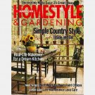 AMERICAN HOMESTYLE GARDENING April 1999 Magazine Carolyne Roehm SUZANNE BUTTERFIELD Berns Fry