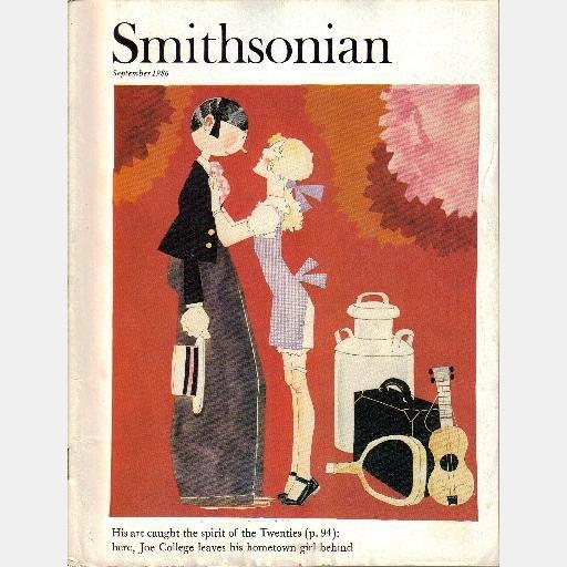 SMITHSONIAN September 1986 Magazine JOHN HELD JR Joe College Leaves Hometown Girl PALAU Besuboru