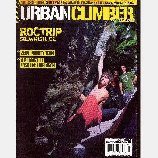 URBAN CLIMBER Magazine #6 August September 2005 Chris Sharma Melissa Lacasse Dave Graham TEVA games