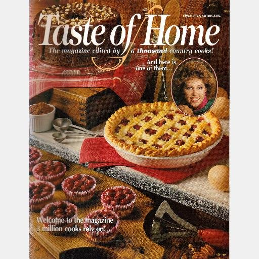 TASTE OF HOME Collector's Edition 1996 #19 Reiman Publications