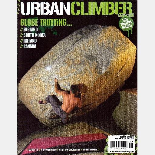 URBAN CLIMBER June July 2005 Magazine #5 Frank Corl Lauren Lee CHRISTIAN BINDHAMMER Ethan Pringle