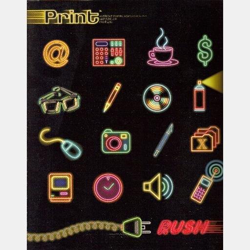 PRINT America's Graphic Design Magazine MAY JUNE 1997 LI III London Underground BRIDGET DE SOCIO