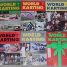 WORLD KARTING magazine LOT 7 1991 Yamaha KT-100S Horseshoe Kartway Great Lakes Sprint