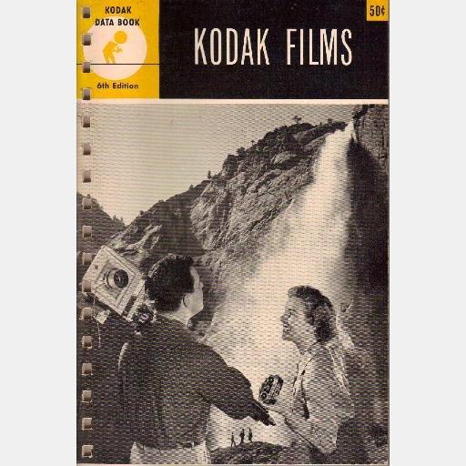 Kodak Data Book F-1 Kodak Films 1954 6th edition Characteristic Curve Density Scale Sensitivity F1