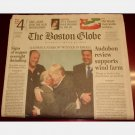 THE BOSTON GLOBE Wednesday March 29 2006 3 29 06 newspaper single issue Blackstone UNC IVORY LATTA