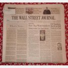 THE WALL STREET JOURNAL Monday October 8 2007 news newspaper single issue Watchmakers Ailes CNBC