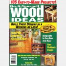 COUNTRY ACCENTS DO IT YOURSELF WOOD IDEAS No 4 1996 Magazine butcherblock table Playcenter