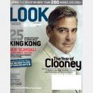 LOOK Magazine ENTERTAINMENT WEEKLY December 2005  GEORGE CLOONEY Maria Bello