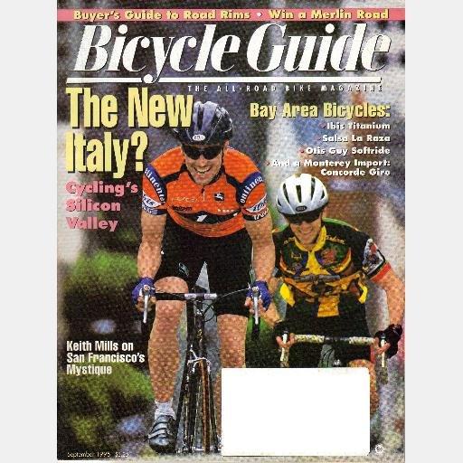 BICYCLE GUIDE September 1995 Magazine IBIS Titanium SALSA LaRaza CONCORDE Giro OTIS Guy KEITH MILLS
