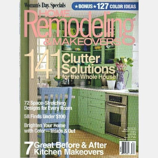 Woman's Day Specials Magazine HOME REMODELING MAKEOVERS 2004