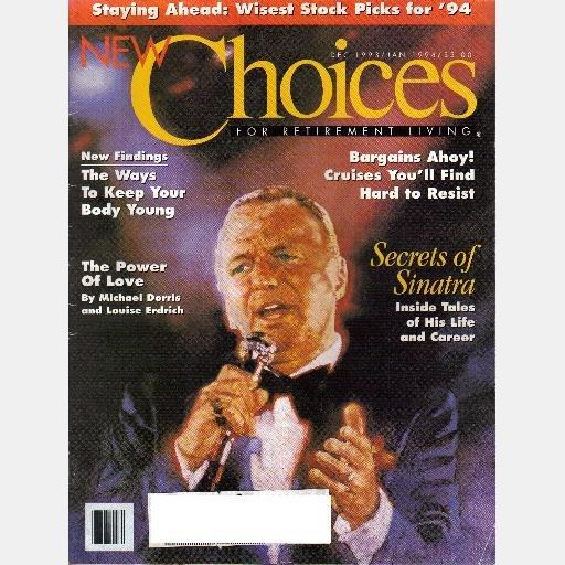 NEW CHOICES Dec 1993 January 1994 Magazine FRANK SINATRA Life Career