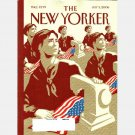 THE NEW YORKER July 3 2006 Magazine World Cup DEPENDENCE DAY COVER Mark Strand Two Horses
