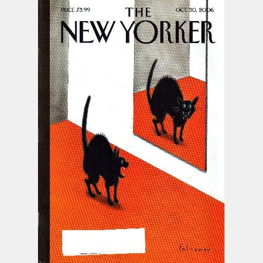 THE NEW YORKER October 30 2006 Magazine SCAREDY CAT COVER