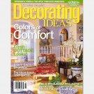 Country Sampler DECORATING IDEAS APRIL 2004 Magazine COTTAGE LOOKS STYLE skirted vanity TINY BATHS