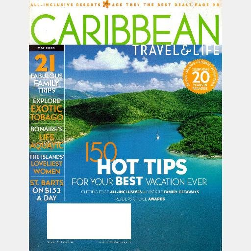 CARIBBEAN TRAVEL & LIFE May 2005 Magazine ST BARTS Bonair Life Aquatic TOBAGO