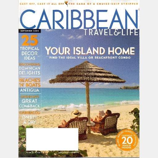 CARIBBEAN TRAVEL & LIFE September 2005 Magazine Antigua Dominican Republic Carriacou Grenada