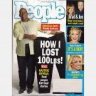 PEOPLE JANUARY 26 2005 Magazine Randy Jackson Lost 100 lb GASTRIC BYPASS American Idol
