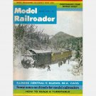 MODEL RAILROADER March 1972 Magazine Illinois Central Bilevel MU Cars Sagatukett River Turntable