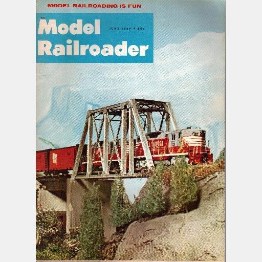 MODEL RAILROADER June 1969 Magazine Bechaud's Brewery 4-4-2 PURR Westchester Electric Railways