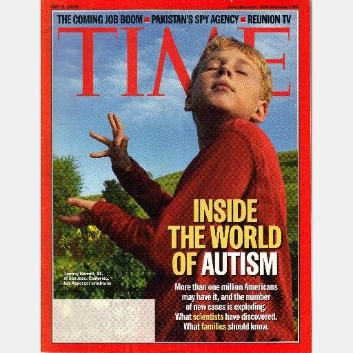 TIME May 6 2002 Magazine INSIDE THE WORLD OF AUTISM Pakistan Spy Agency
