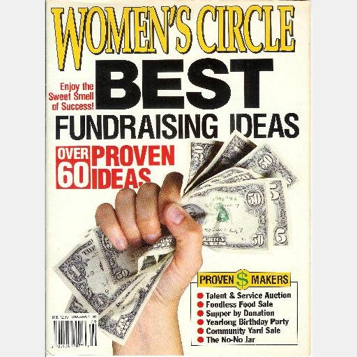 WOMEN'S CIRCLE Womens Best Fundraising Ideas 60 Proven Fund Raising No-No Jar Buckwheat Festival