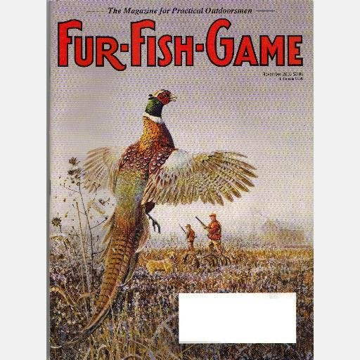 FUR FISH GAME November 2003 Volume 100 No 11 Magazine Mink PHEASANT Blue Cats Trapping