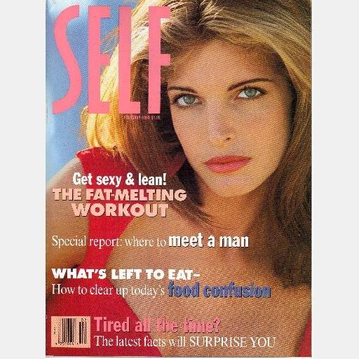 STEPHANIE SEYMOUR magazine covers LOT SELF February June 1993