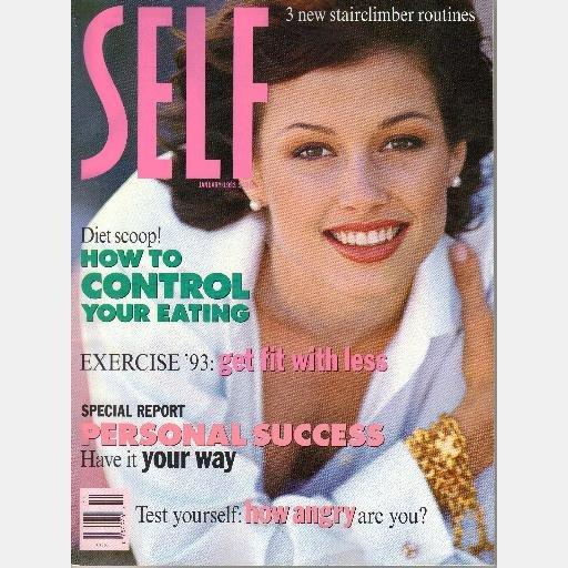 SELF magazine BRIDGET MOYNAHAN covers September 1992 January April 1993 LOT 3 ISSUES