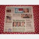 USA TODAY April 14 2008 Monday Newspaper DNA Alicia Keys Trevor Immelman Tax Delinquents