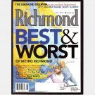 RICHMOND August 2001 Virginia Magazine BEST WORST Sa'ad El-Amin Gregg Stallings JULIE BRAGG