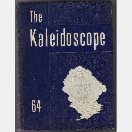 THE KALEIDOSCOPE Hopewell High School VA 1964 Yearbook Year Book Virginia