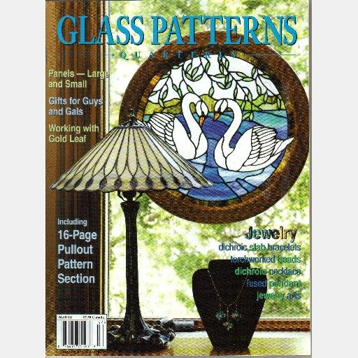 GLASS PATTERNS QUARTERLY LOT 2 Spring Winter 2004 Magazine Vol 20 DICHROIC jewelry copper gold leaf
