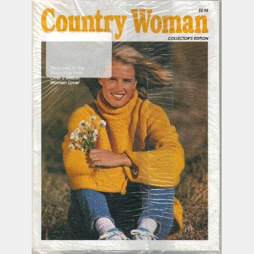 COUNTRY WOMAN 1994 Collector's edition Magazine BROWNIES Maple Butterscotch/Raspberry Truffle NEW