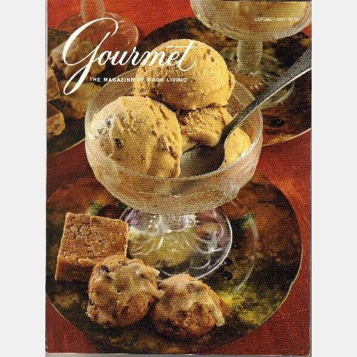 GOURMET October 1992 Magazine Chocolate Truffle Turtle Cake Black Walnuts White Truffle Alba Italy